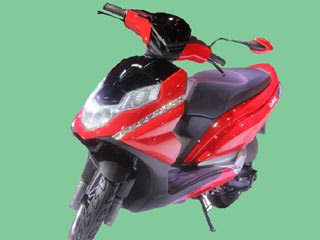 New coming Hero Dare 125cc Scooter Red & black color Hd Image 8