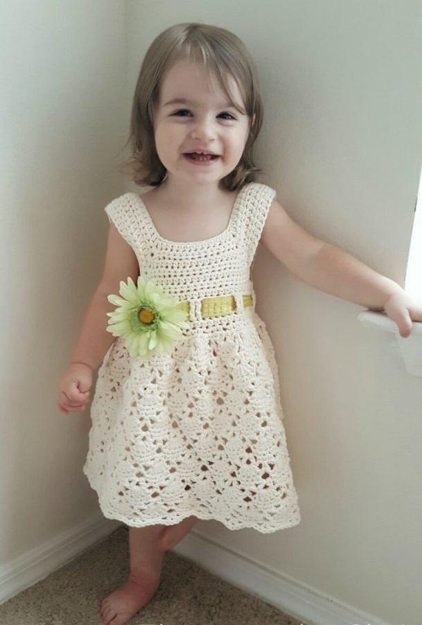 Wonderful Vintage Child's Dress - Step by Step Free
