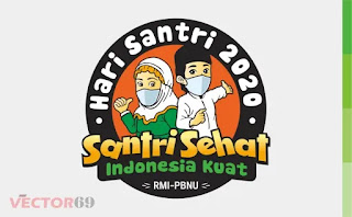 Hari Santri Nasional 2020 RMI-PBNU Logo - Download Vector File CDR (CorelDraw)