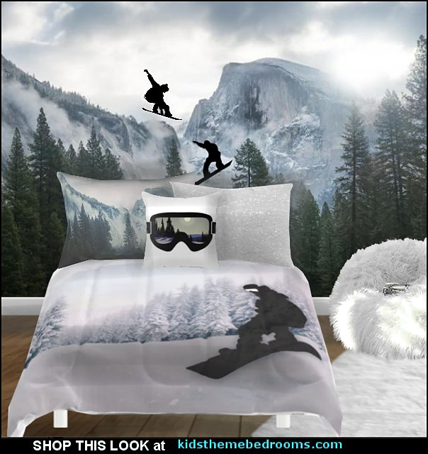 snowboarder beddng snowboarding bedding snowboard bedroom ideas.