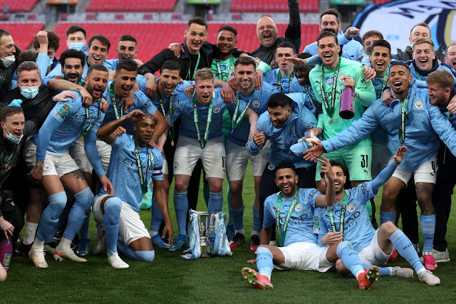 Manchester City - Reprodução Twitter
