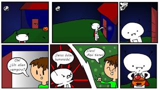 Una historieta de #Halloween