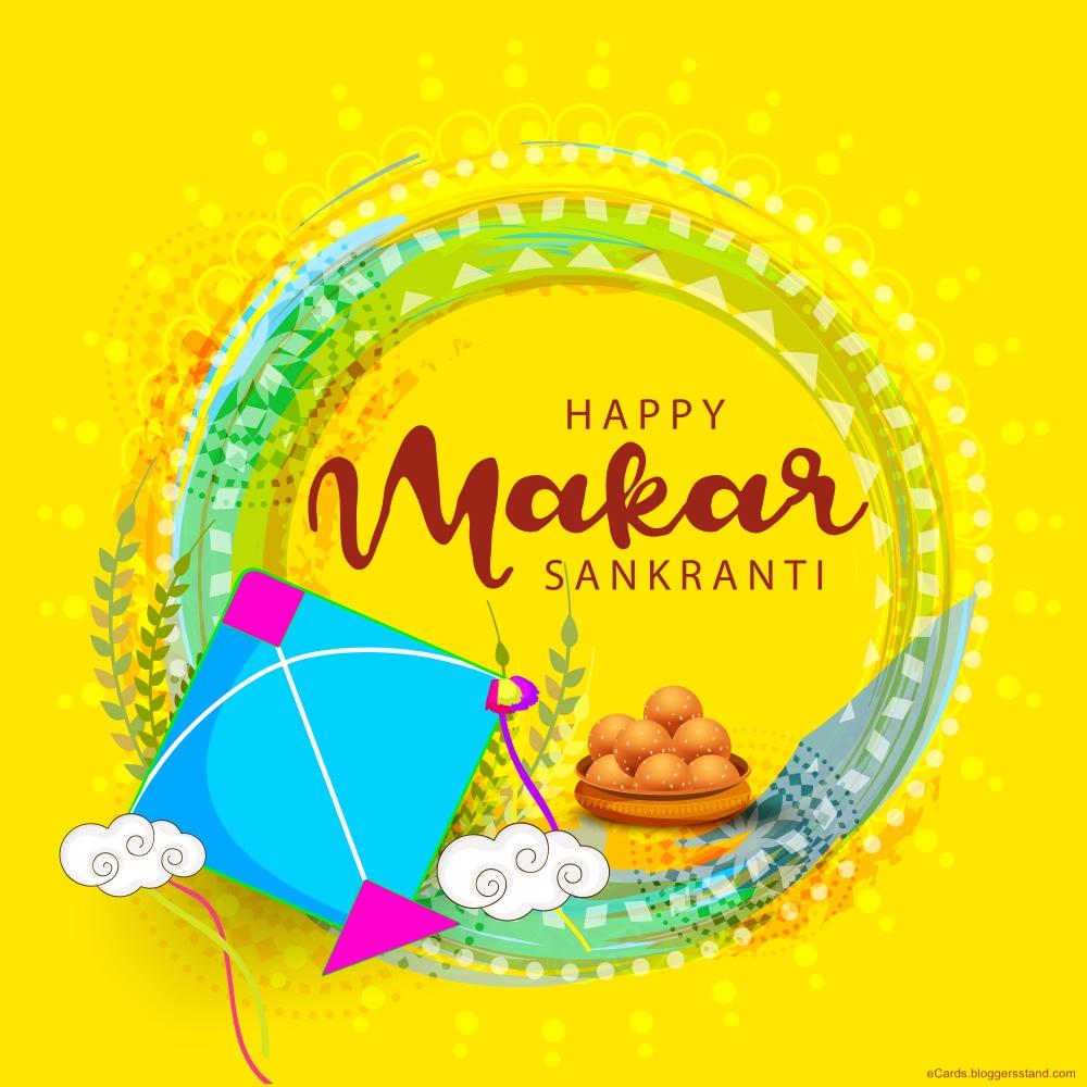 Happy makar sankranti 2021 festival greetings