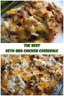 #Keto #BBQ #Chicken #Casserole #crockpotrecipes #chickenbreastrecipes #easychickenrecipes #souprecipes