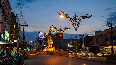 One last peek at the Chiang Rai clock tower