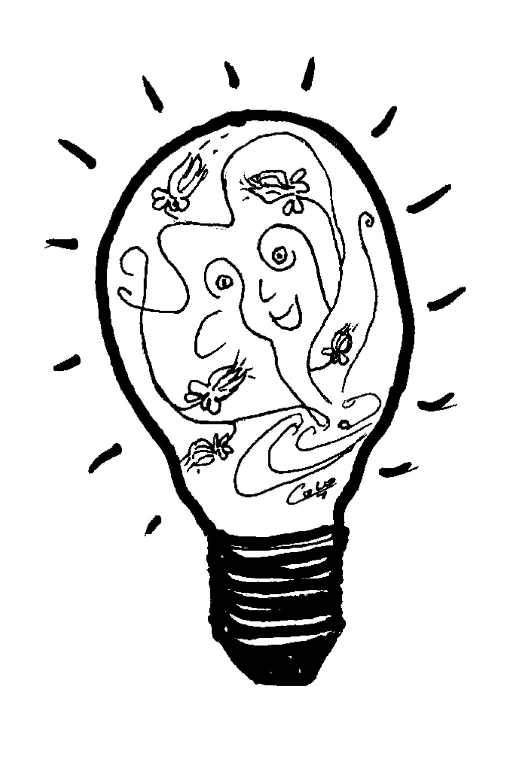 Squiddly Diddly Coloring Pages