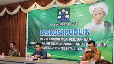 LDC Gelar Diskusi Publik, Pemuda NW Serukan Kebersamaan Untuk Kejayaan