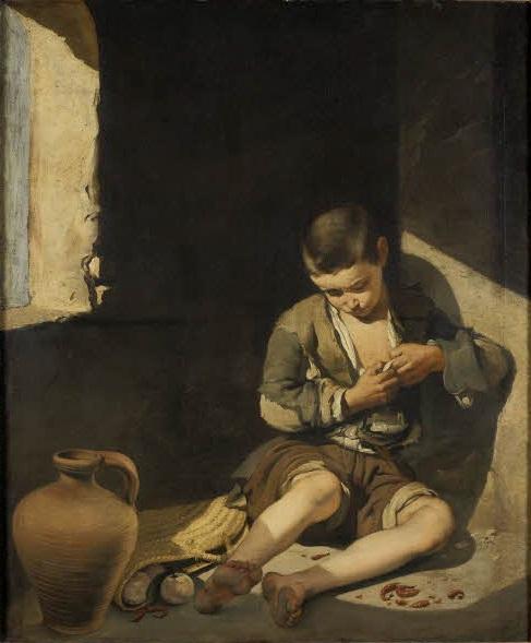 Niño espulgándose, c.1650