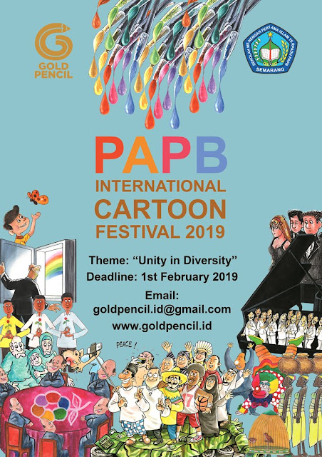 The Winners of PAPB International Cartoon Festival 2019, Indonesia