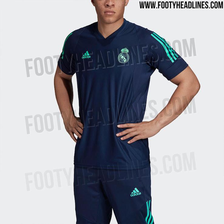 32c4a45b95b Adidas Real Madrid 19-20 Champions League Training Kit Leaked ...