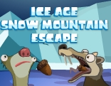 GenieFunGames Ice Age Snow Mountain Escape Walkthrough
