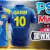 Sri Lanka ODI 2019 Shirt Design Tutorial + Free Collar Shirt PSD Mockup for Download by M Qasim Ali