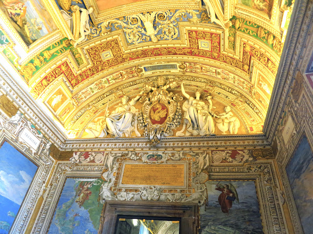 Vatican Museums Frescoes