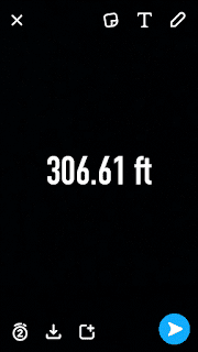 Analog Display Snapchat Altitude Filter