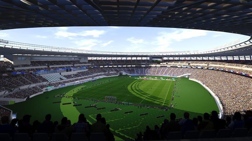 Ajinomoto Stadium (Tokyo) For eFootball PES 2021