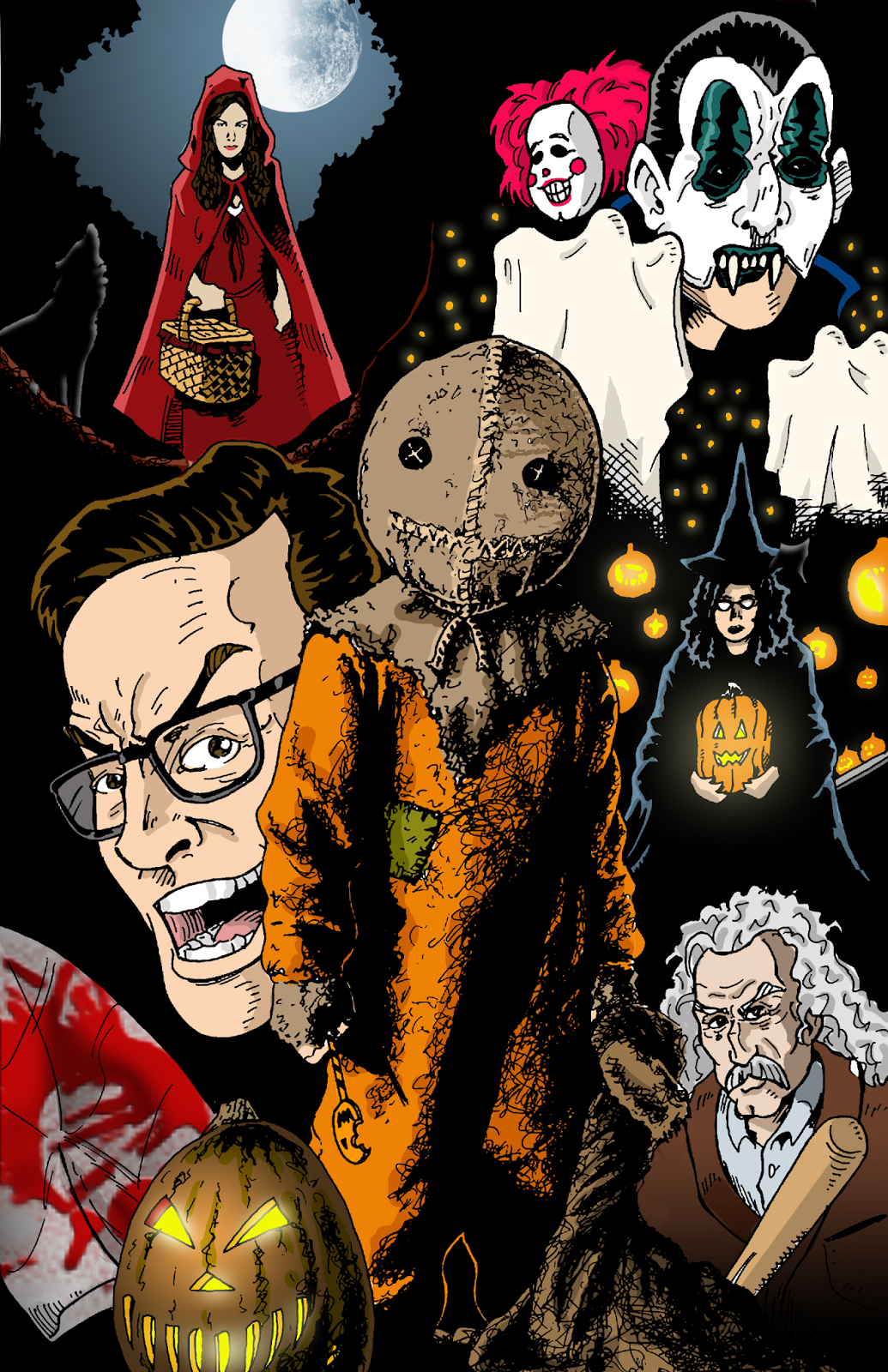 The Horrors of Halloween: TRICK 'R TREAT (2007) Collage