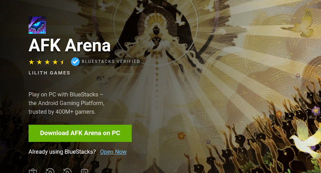 AFK arena PC download