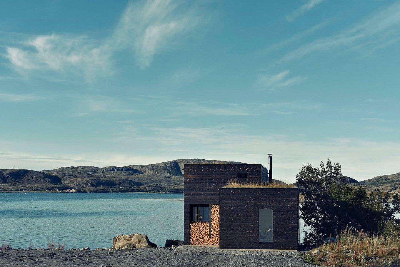 Casa nel paesaggio naturale di Stokkoya in Norvegia by