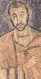 Ψηφιδωτό από την εκκλησία του Αγίου Αμβροσίου στο Μιλάνο Mosaïque de la Basilique de Saint Ambroise de Milan