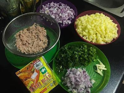 Resepi Murtabak Mini Kulit Popia Mudah dan Sedap