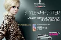 Logo Concorso Style à Porter : con gli scontrini vinci Samsung Galaxy S6 e Toyota Yaris