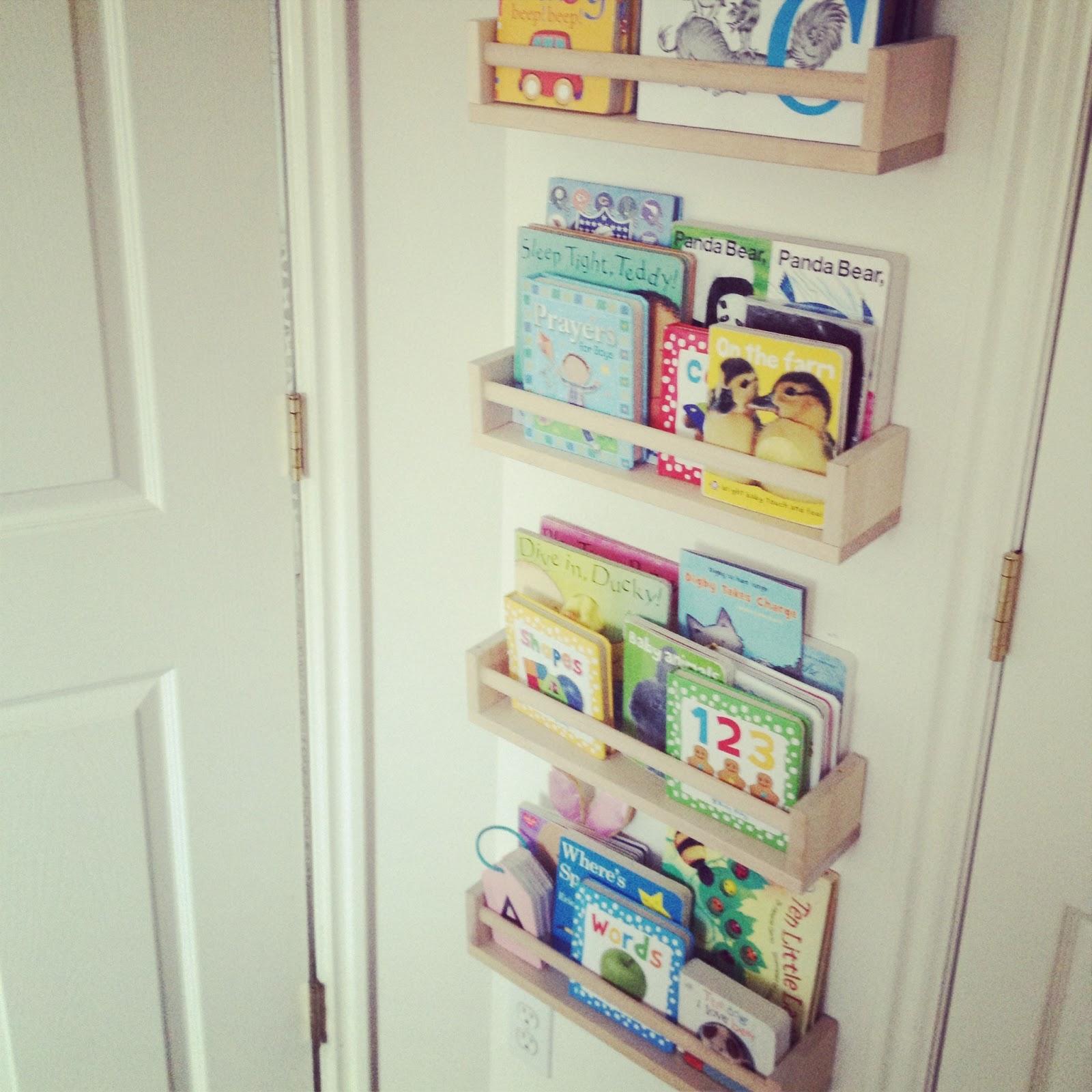 Big Momma O: Pinterest Project: Ikea Spice Rack Bookshelves