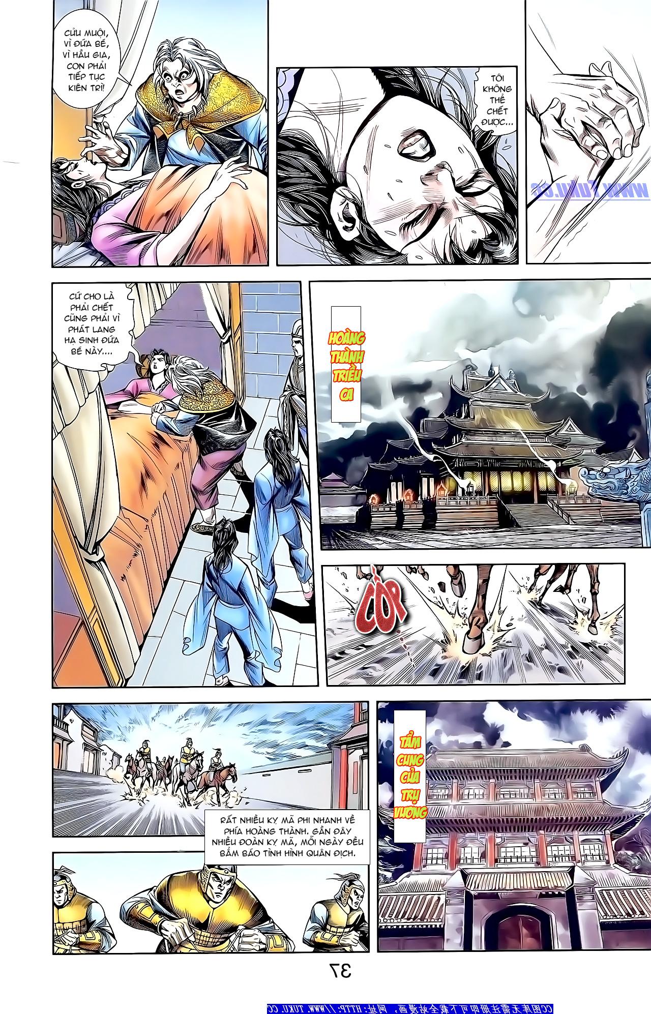 Cơ Phát Khai Chu Bản chapter 159 trang 23