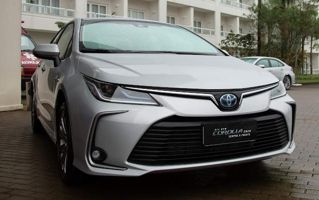 Novo Corolla híbrido 2020 poderá ser alugado a R$ 299/dia nas concessionárias Toyota