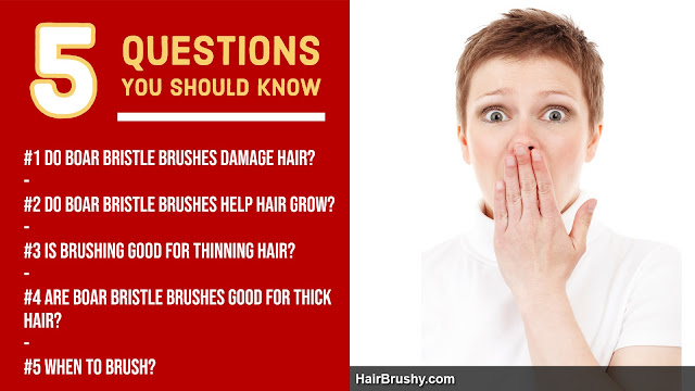 Do boar bristle brushes damage hair