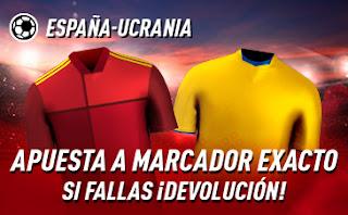 sportium Promo España vs Ucrania 6 septiembre 2020