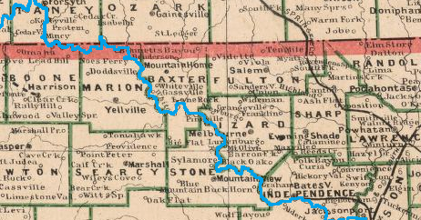 The 1891 White River Convention: Ozark Key to Transportation