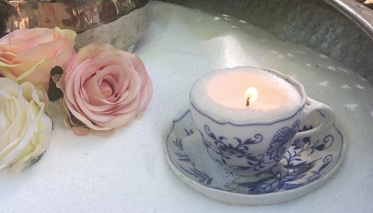 Dekoration Kerzen Kerzensand