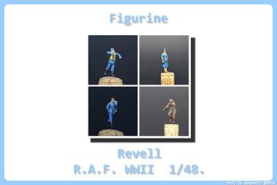Figurine de la RAF WWII