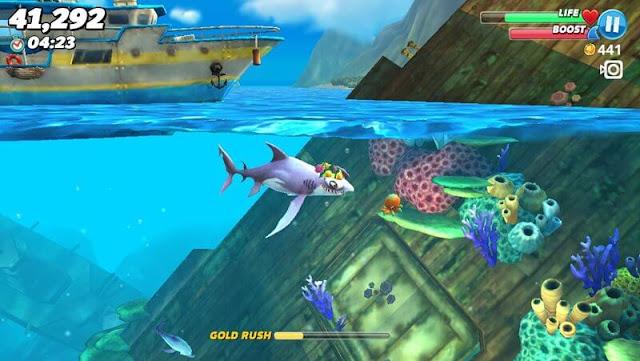 تنزيل لعبة هنجري شارك ايفولوشن 2020 : Hungry Shark apk للأندرويد والايفون