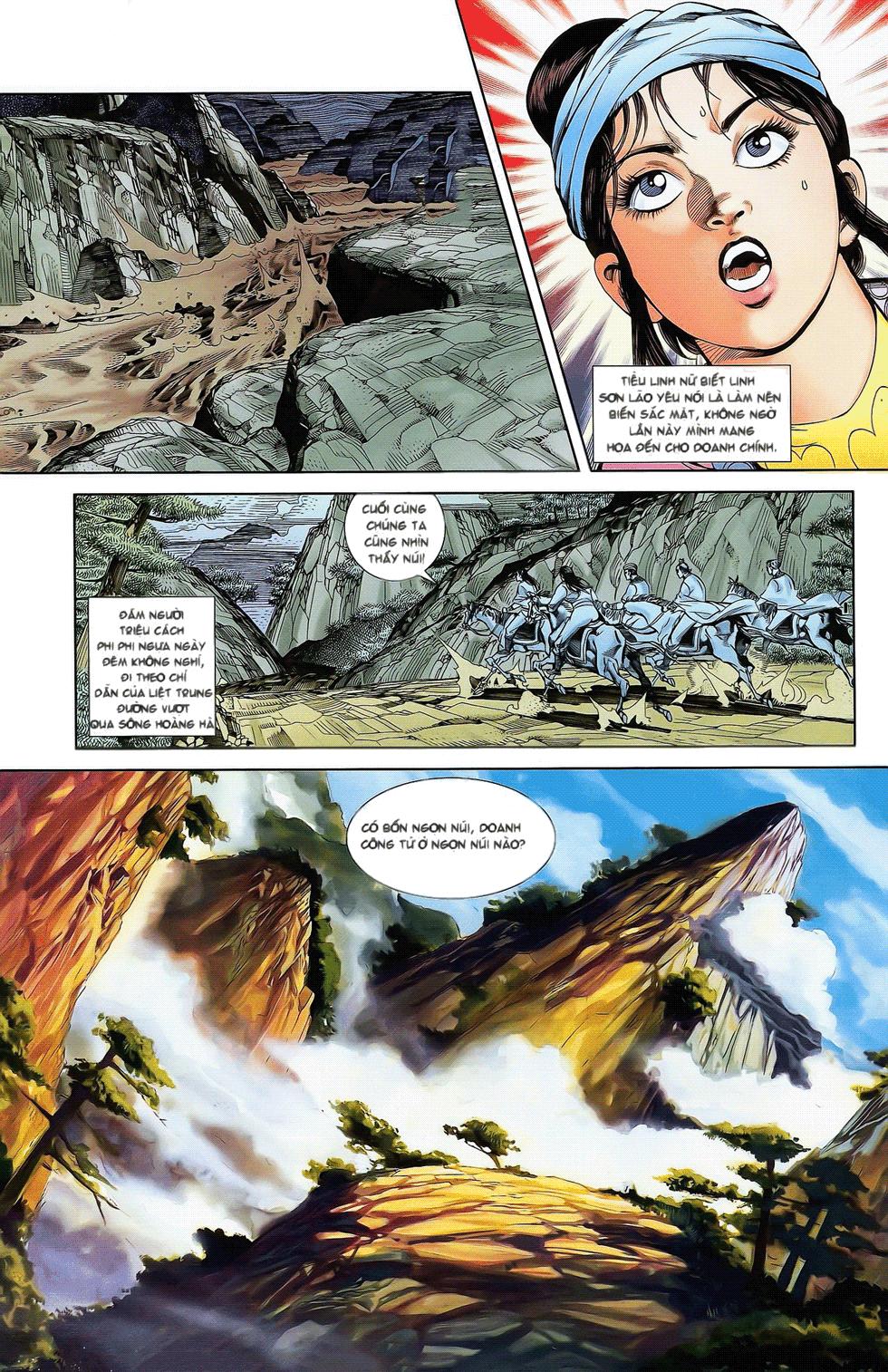 Tần Vương Doanh Chính chapter 17 trang 26