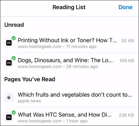 تخطيط قائمة القراءة