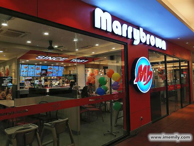 Marrybrown branch in Citta Mall, Ara Damansara