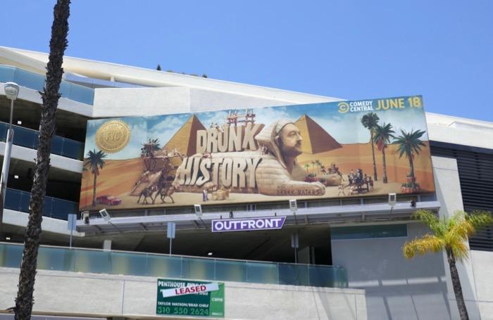 Drunk History 2019 Emmy consideration billboard