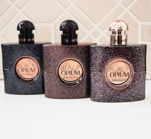 YSL Black Opium Eau de Parfum, Eau de Toilette and Nuit Blanche editions Get Lippie 20161120