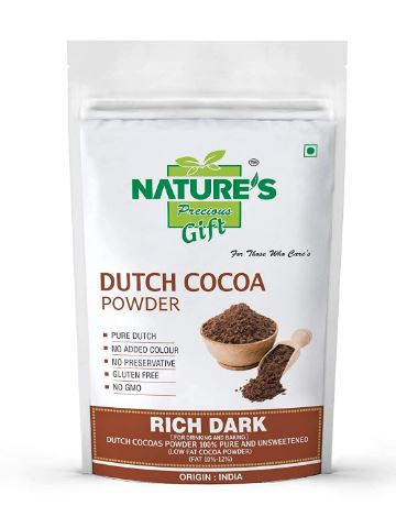 NATURE'S GIFT Dutch Cocoa Powder