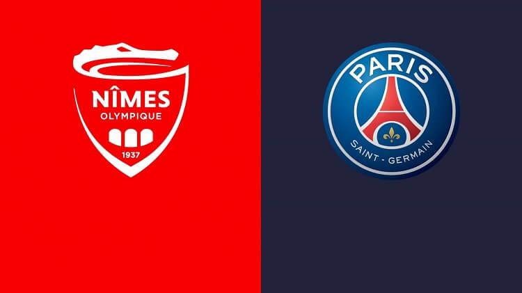 بث مباشر مباراة باريس سان جيرمان ونيم اولمبيك
