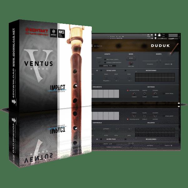 Ventus Series Duduk KONTAKT Library