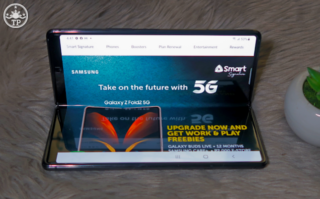 Smart Signature Postpaid Samsung Galaxy Z Fold2 Plans