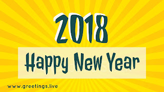 Yellow colored sun rays effect new year 2018.jpg