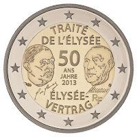 Elysee sopimus Ranska kolikko 2013