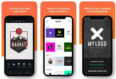 aplikasi mendesain logo di hp iOS