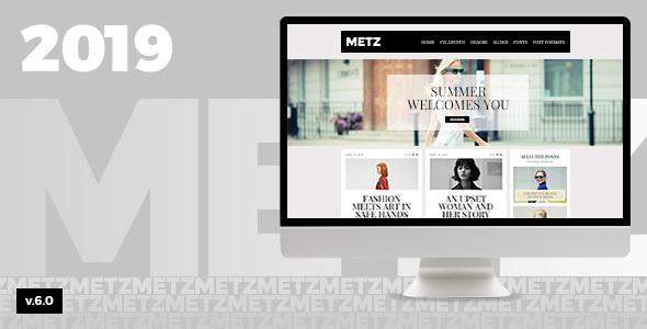 METZ V6.3 - A FASHIONED EDITORIAL MAGAZINE THEME
