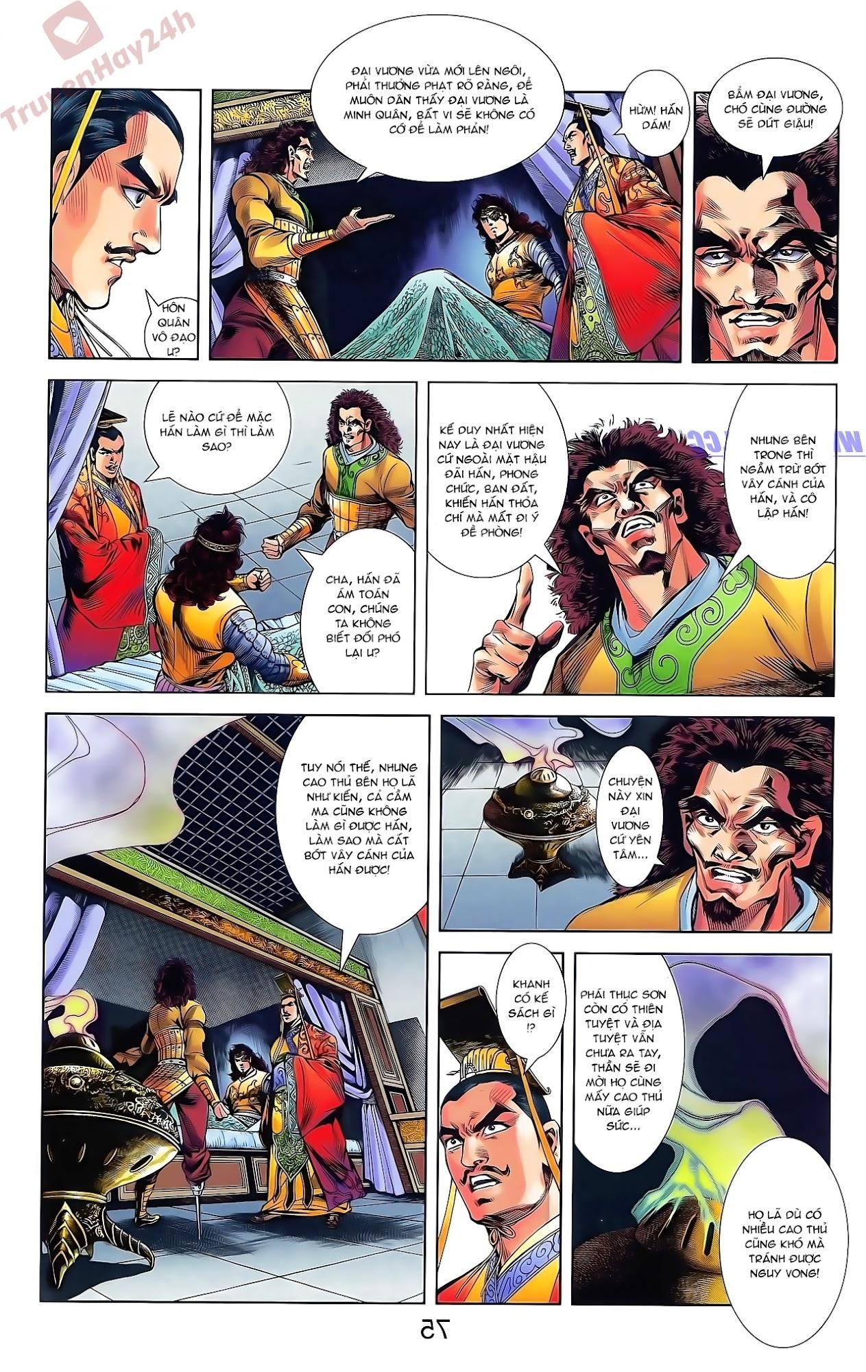 Tần Vương Doanh Chính chapter 49 trang 29