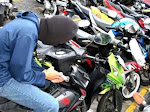 Polisi Buru Pelaku Pencurian Motor di SMK Tridharma Kota Gorontalo