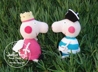 Crochet Peppa Pig Amigurumi Free Patterns | 237x320